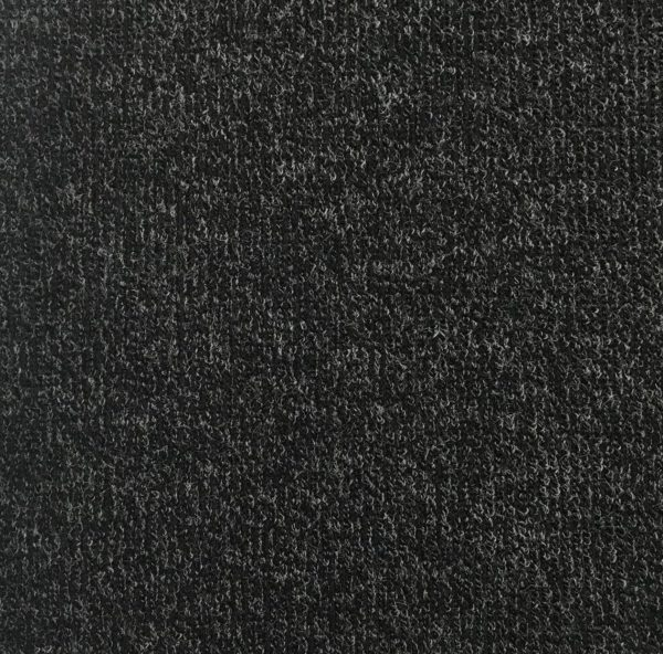 Super Soft Ribbed Stretch Knit Fabric - Charcoal