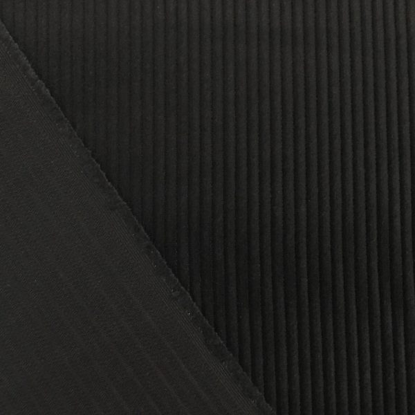 100% Cotton Jumbo Cord - Black