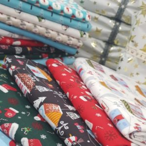 Christmas Cotton Bundle - 5 Metres of Assorted Designs