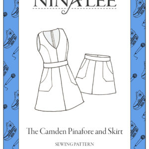 Nina Lee London Camden Pinafore & Skirt Sewing Pattern
