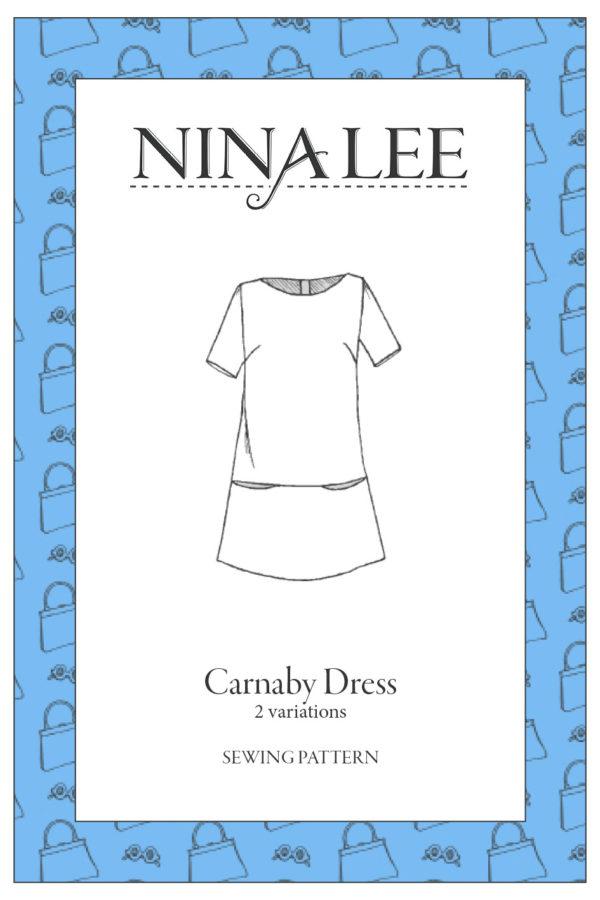 Nina Lee London Carnaby Dress Sewing Pattern