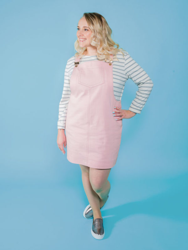 Tilly and the Buttons Cleo Pinafore + Dungaree Dress Pattern