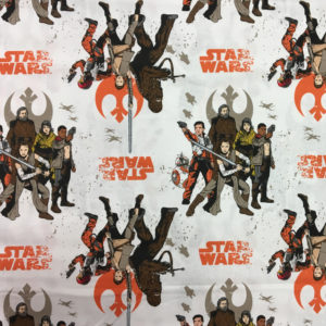Star Wars The Last Jedi 100% Cotton - Rebel Alliance
