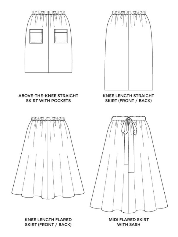 Tilly and the Buttons Dominique Skirt Sewing Pattern