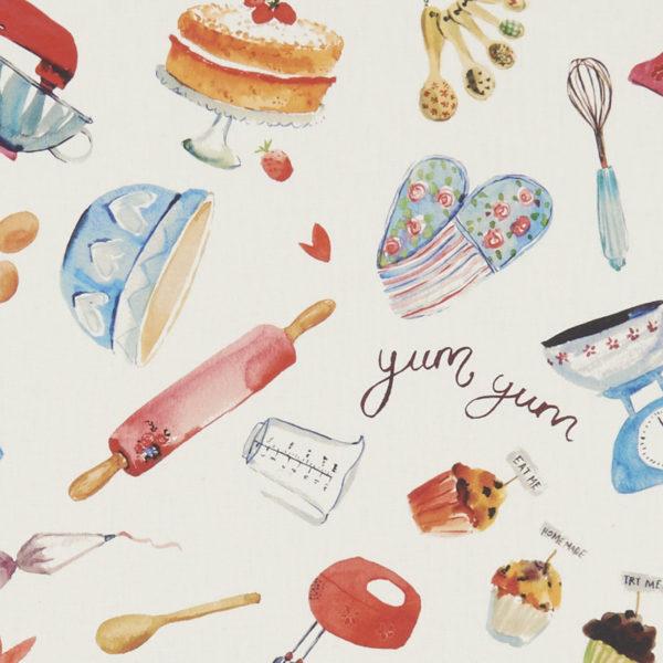 Studio G 100% Cotton Canvas - Village Life - Bake Off