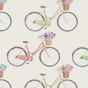 Studio G 100% Cotton Canvas - Village Life - Bicycles