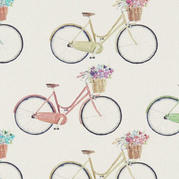 Studio G 100% Cotton Canvas - Village Life - Bicycles