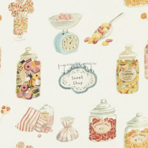 Studio G 100% Cotton Canvas - Village Life - Sweetshop