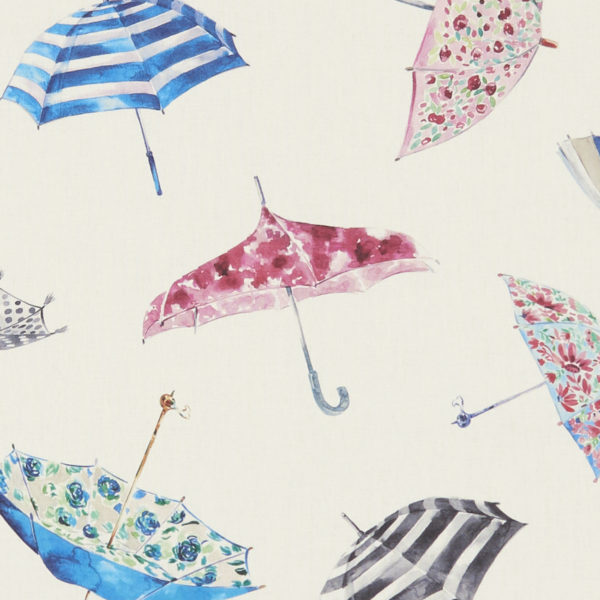 Studio G 100% Cotton Canvas - Village Life - Umbrellas