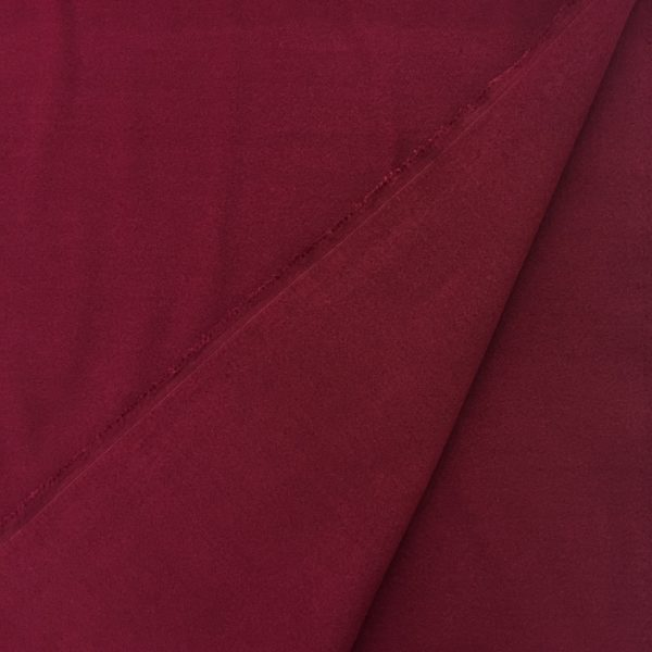 'Softcoat' Outerwear Fabric - Wine