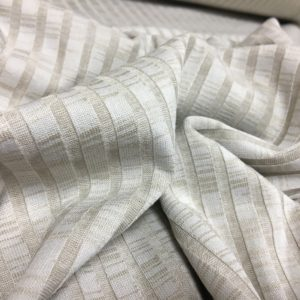 Slinky Stretch Ribbed Knitted Dressmaking Fabric - Oatmeal