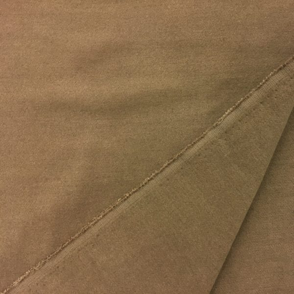 'Softcoat' Outerwear Fabric - Dark Camel