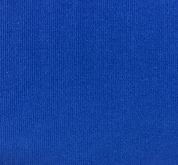 100% Cotton Babycord - Royal Blue