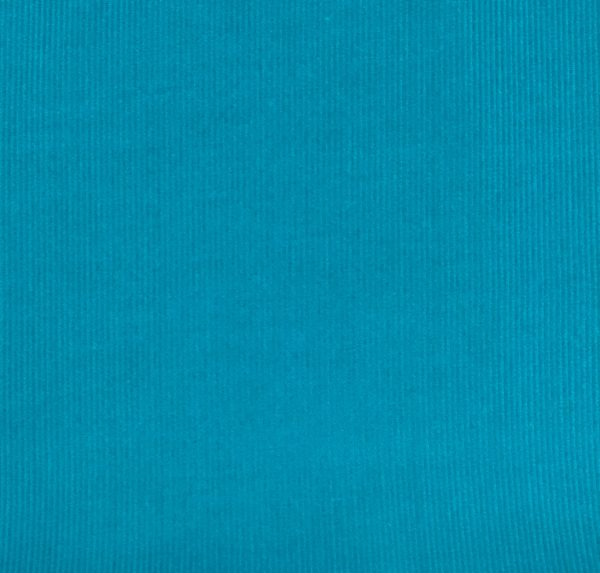 100% Cotton Babycord - Turquoise