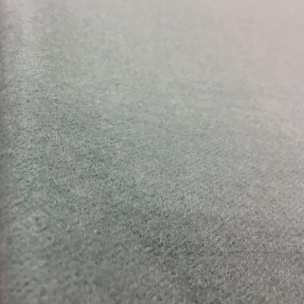Boiled Wool Blend Fabric - Mint