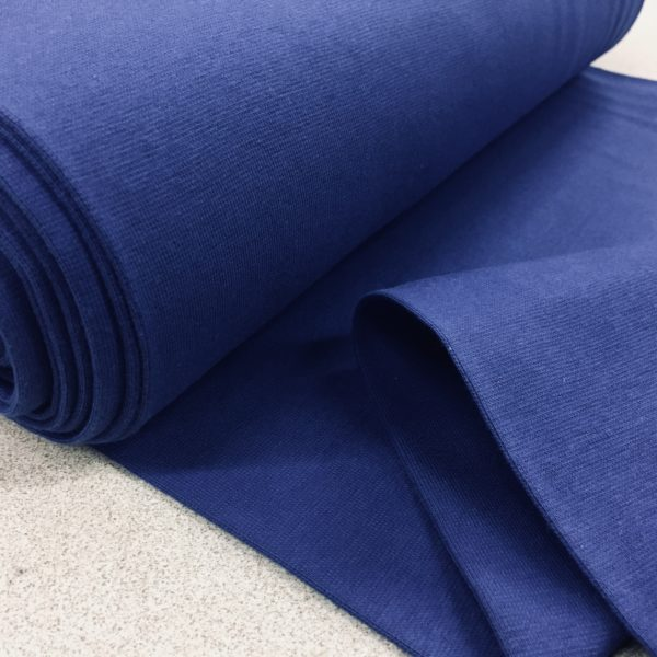 Tubular Jersey Rib/Cuffing - Royal Blue