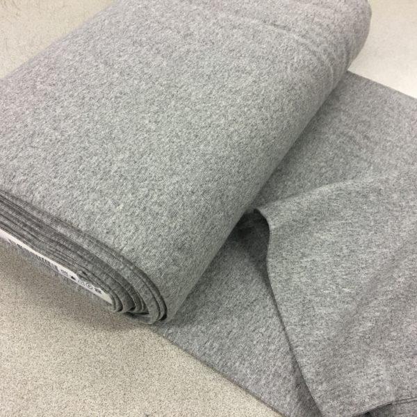 Tubular Jersey Rib/Cuffing - Light Grey