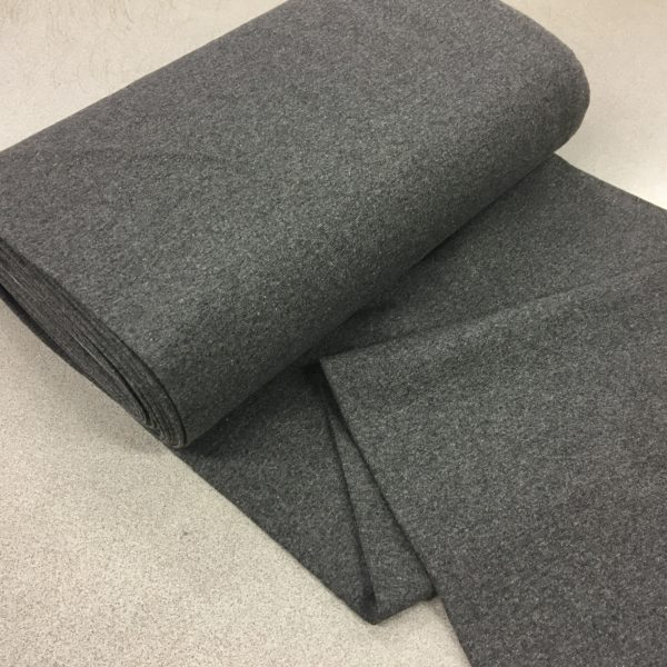 Tubular Jersey Rib/Cuffing - Medium Grey