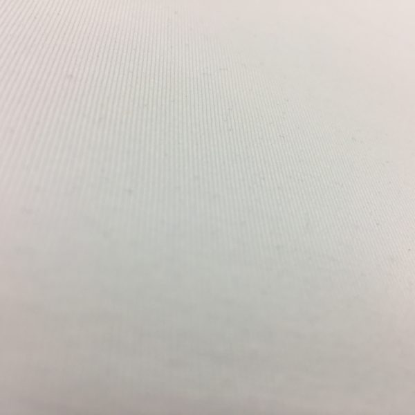 Organic Cotton Spandex Jersey - White