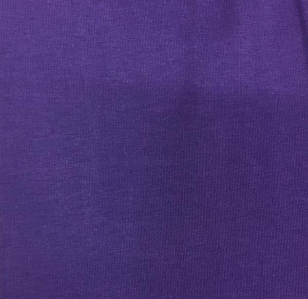 Organic Cotton Spandex Jersey - Purple