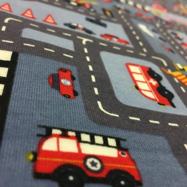 Stof of Denmark Avalana Loop-Back Sweatshirt Jersey - Roadworks