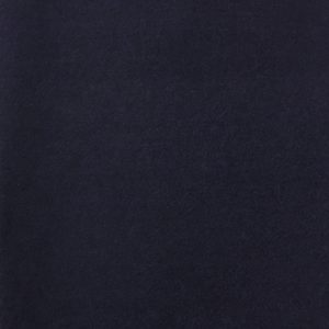 Boiled Wool Blend Fabric - Navy