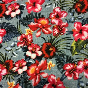 Lady McElroy Dressmaking Poly/Spandex - Floral Paradise