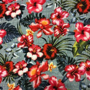 Lady McElroy Dressmaking Poly/Spandex - Floral Paradise