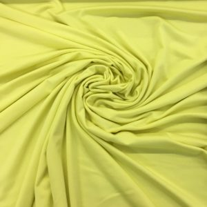 Viscose Spandex Jersey - Canary Yellow