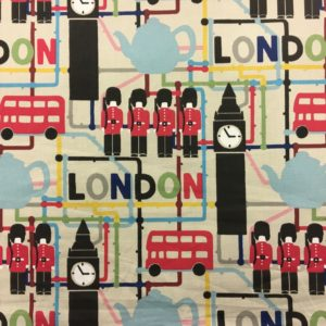 Studio G 100% Cotton Canvas - London