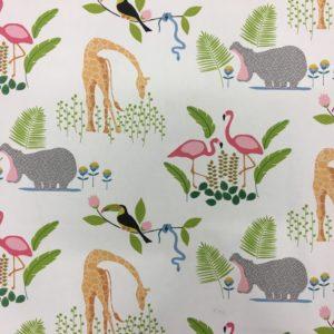 Fryetts Fabrics 100% Cotton Canvas - Tropicana