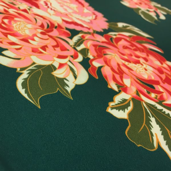 Lady McElroy Fabrics - Riverside Blooms Printed Scuba Jersey