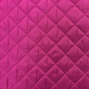 Double Sided Quilted Lining - Pink