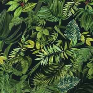 Lady McElroy Soft Crepe Jersey - Foliage Canopy