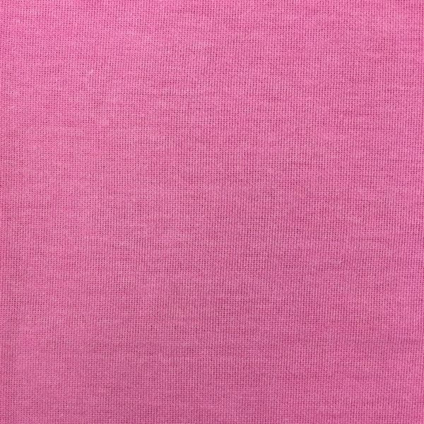 Brushed Back Knitted Sweatshirting - Pink