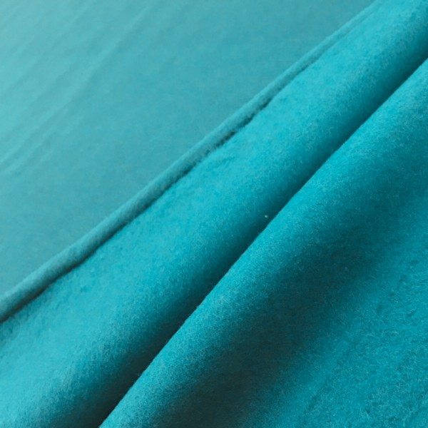 Fleece Back Sweatshirt Jersey - Aquamarine