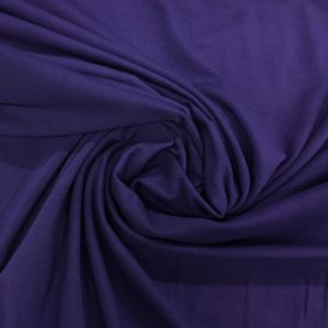 Organic Cotton Spandex Jersey - Purple