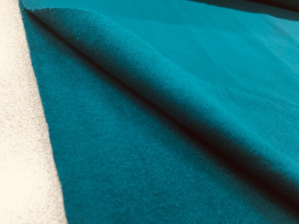 Brushed Back French Terry Jersey - Teal