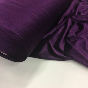 Smooth Stretch Velvet - Damson