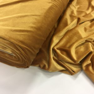 Smooth Stretch Velvet - Gold
