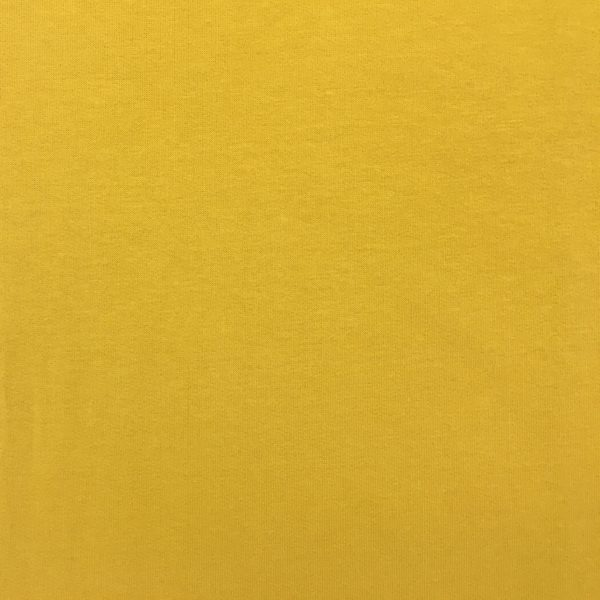 Soft Brushed Back French Terry Jersey - Yellow Ochre