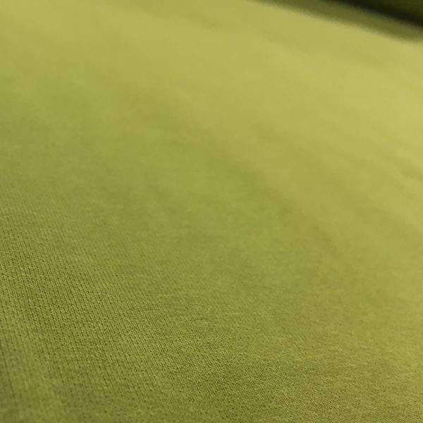 Soft Brushed Back French Terry Jersey - Olive