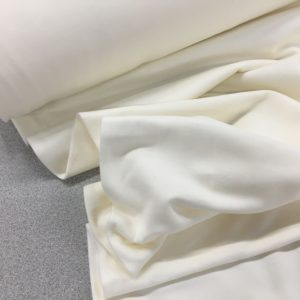 Soft Brushed Back French Terry Jersey - Ivory