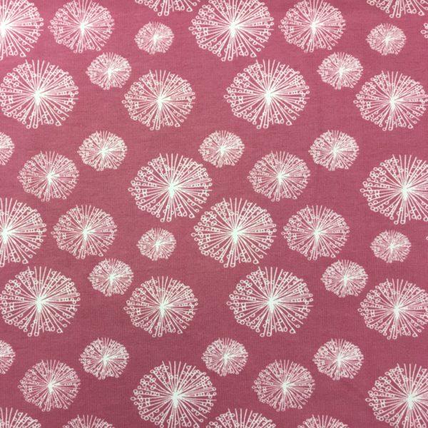 Stof of Denmark Avalana Sweatshirt Jersey - Dandelion - Pink
