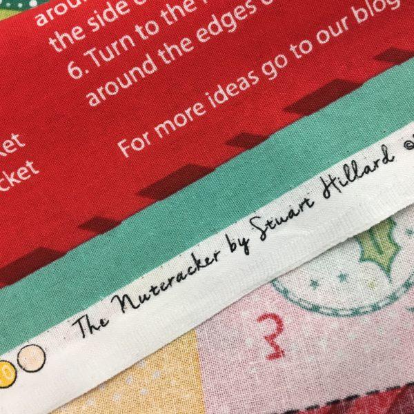 Christmas Advent Calendar Panel - The Nut Cracker by Stuart Hillard