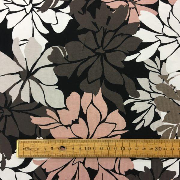 Stof of Denmark Avalana Jersey - Large Flowers