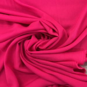 Plain Lightweight 100% Viscose - Bright Fuchsia Pink