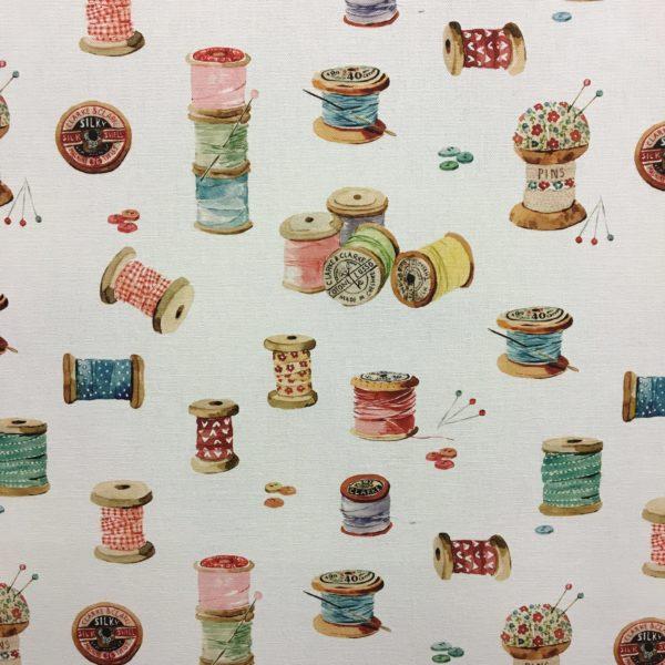 Studio G 100% Cotton Canvas - Village Life - Sewing