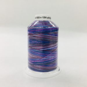 Gutermann Bulk Overlocking Thread - 1000m - Variegated Purple
