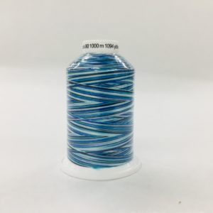 Gutermann Bulk Overlocking Thread - 1000m - Variegated Blue